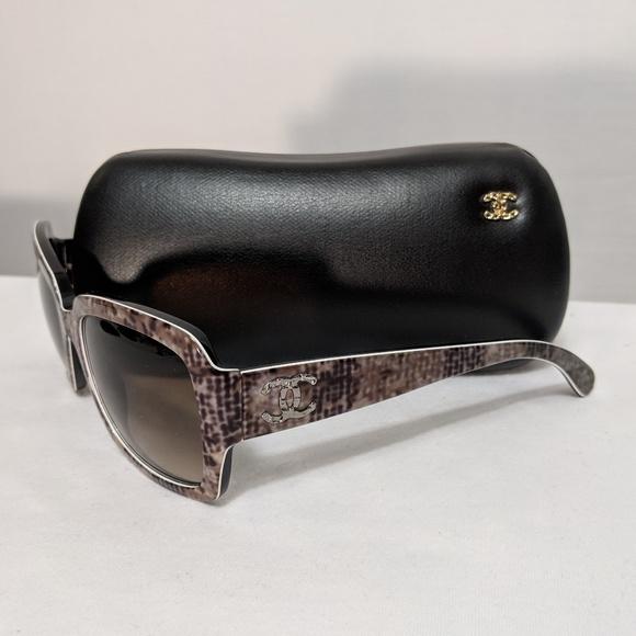 4a5fa48272e4 Chanel 5221 Pattern Sunglasses